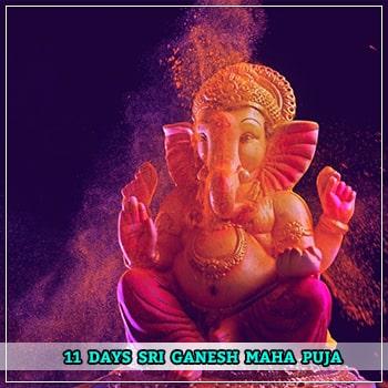 11 Days Shri Ganesh Maha Puja