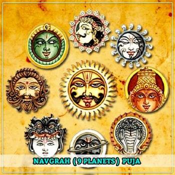 Navgrah(9 Planets) Puja