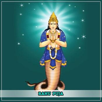 Rahu Puja
