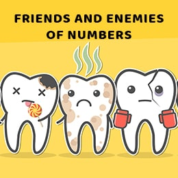 Friends and Enemies of Numbers
