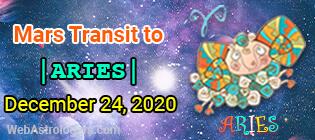 Mars transit Pisces to Aries 2
