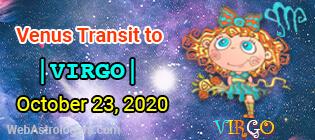Venus Transit Leo to Virgo