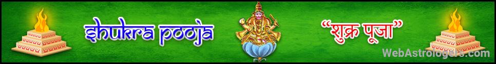 Shukra Shanti Puja