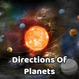 Direction-Planet, Correlation, their Defects and Remedies