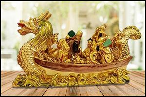 Dragon Faced Boat